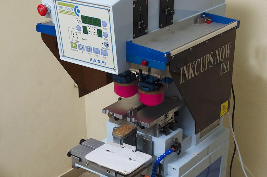 Tagless / Pad Printing